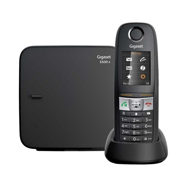 Image of Gigaset E630A Phone with Answering Machine