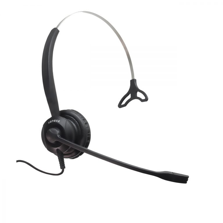 Image of Xenexx XS820 Single Sided Headset with QD-P Connector