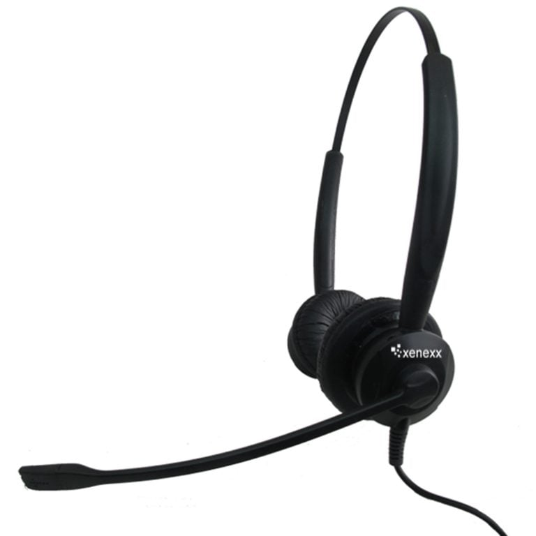 Image of Xenexx XS825 Duo Sided Headset with QD-P