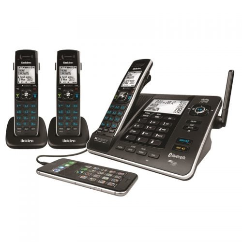 Uniden XDECT8355+2 Cordless Phone - 2 Extra Handsets
