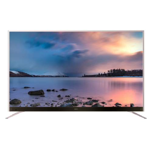 """KONIC 65"""" 4K Ultra HD 3840X2160 LED TV with widescreen"""