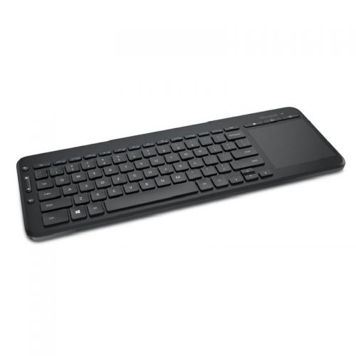 Microsoft All-in-one Wireless Media Keyboard with multiple-touch Trackpad