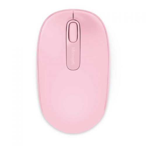 Microsoft 1850 Optical Wireless Mouse - Light Orchid