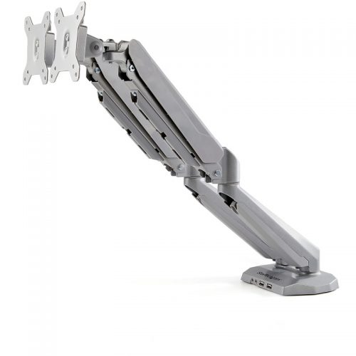 """Startech ARMSLIMDUOS 32"""" Dual Monitor Desk Mount with USB"""