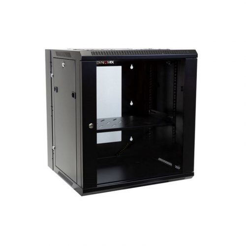 DYNAMIX 12RU Wall Mount Cabinet RSFDS12-600 - 600mm Deep Universal Swing with Removable Back Mount 600 x 600 x 635mm