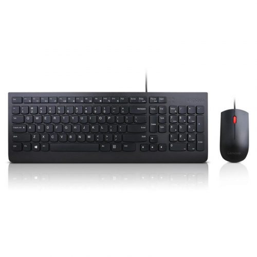 Lenovo 4X30L79883 Essential Wired Combo Keyboard and Mouse (US English)