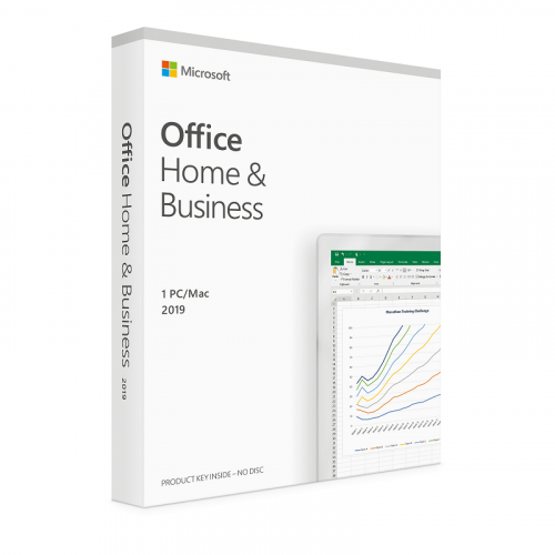 Image of Microsoft Office Home & Business 2019 - Single License