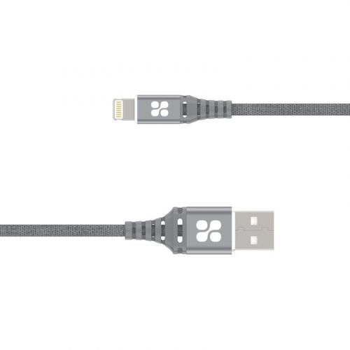 Image of Promate NerveLink-i Grey USB-A to Lightning Connector Cable