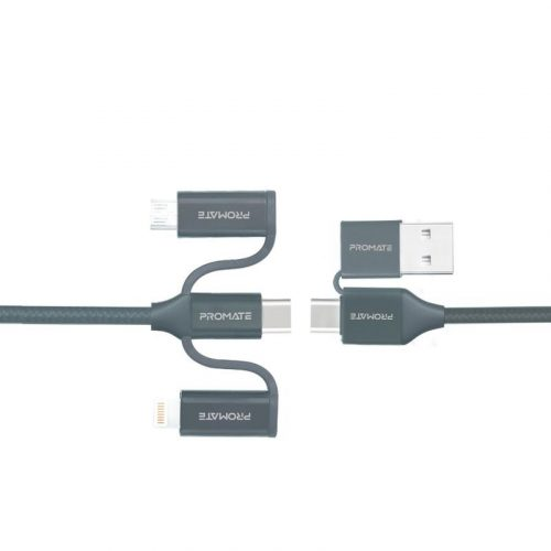Promate PentaPower 6-in-1 Hybrid Multi-Connector Cable