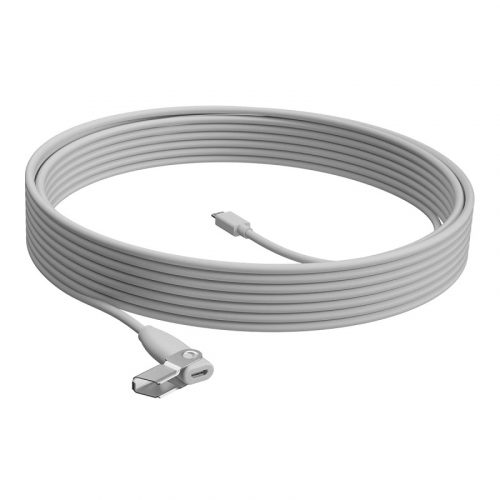 Logitech 10m Extension Cable for Rally Mic Pod - White 952-000047