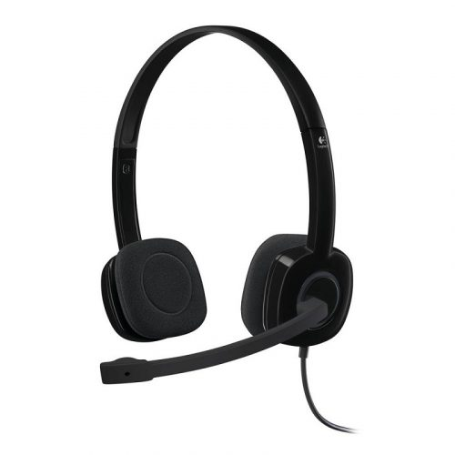 Logitech H151 Stereo Headset with 3.5mm and In-line Control