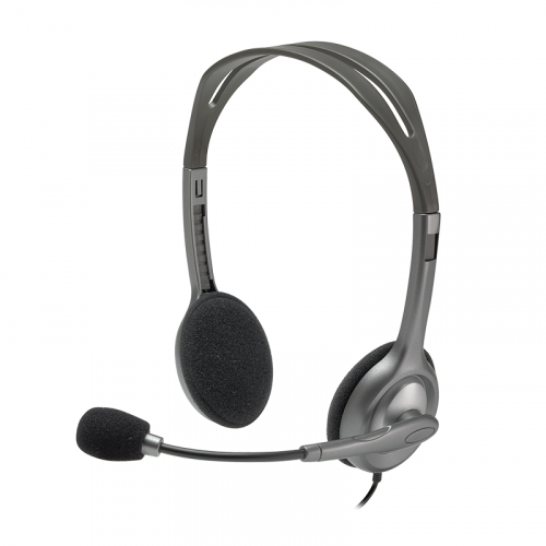 Logitech H110 Stereo Headset with 3.5mm Connector