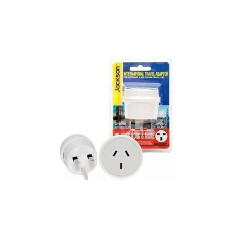 JACKSON Outbound Travel Power Adapter - Converts NZ/AUS to HK/UK