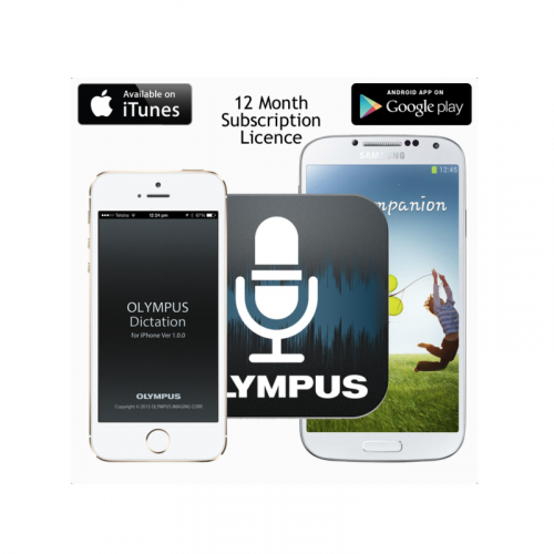 Olympus Dictation Delivery Service ODDS License - 12 Month