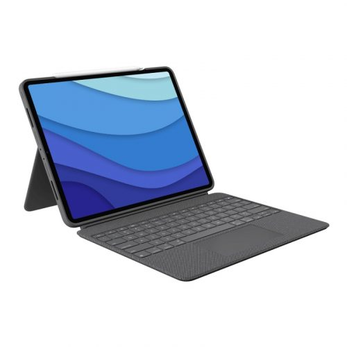 Logitech Combo Touch for iPad Air (4th Generation) - Oxford Grey 920-010296