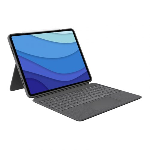 Logitech Combo Touch for iPad Pro (5th Generation) - Oxford Grey 920-010215