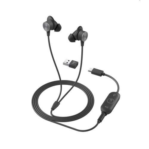 Logitech Zone Wired Earbuds Teams - 981-001094